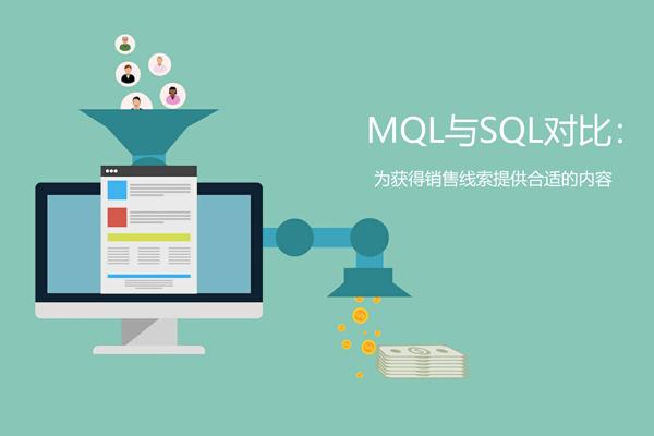 销售合格线索SQL和营销合格线索MQL的区别