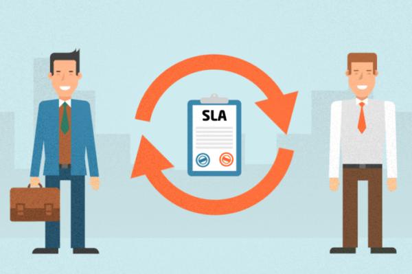 企业销售和市场部门的SLA(服务等级协定)